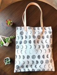 Moon Phase Organic Tote