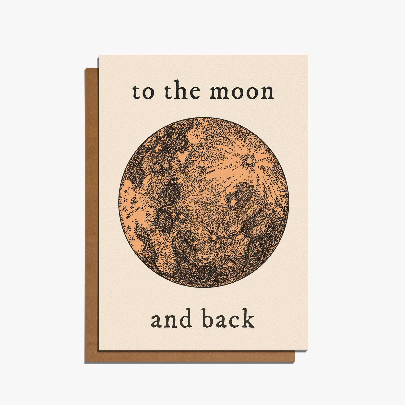 To The Moon Greeting