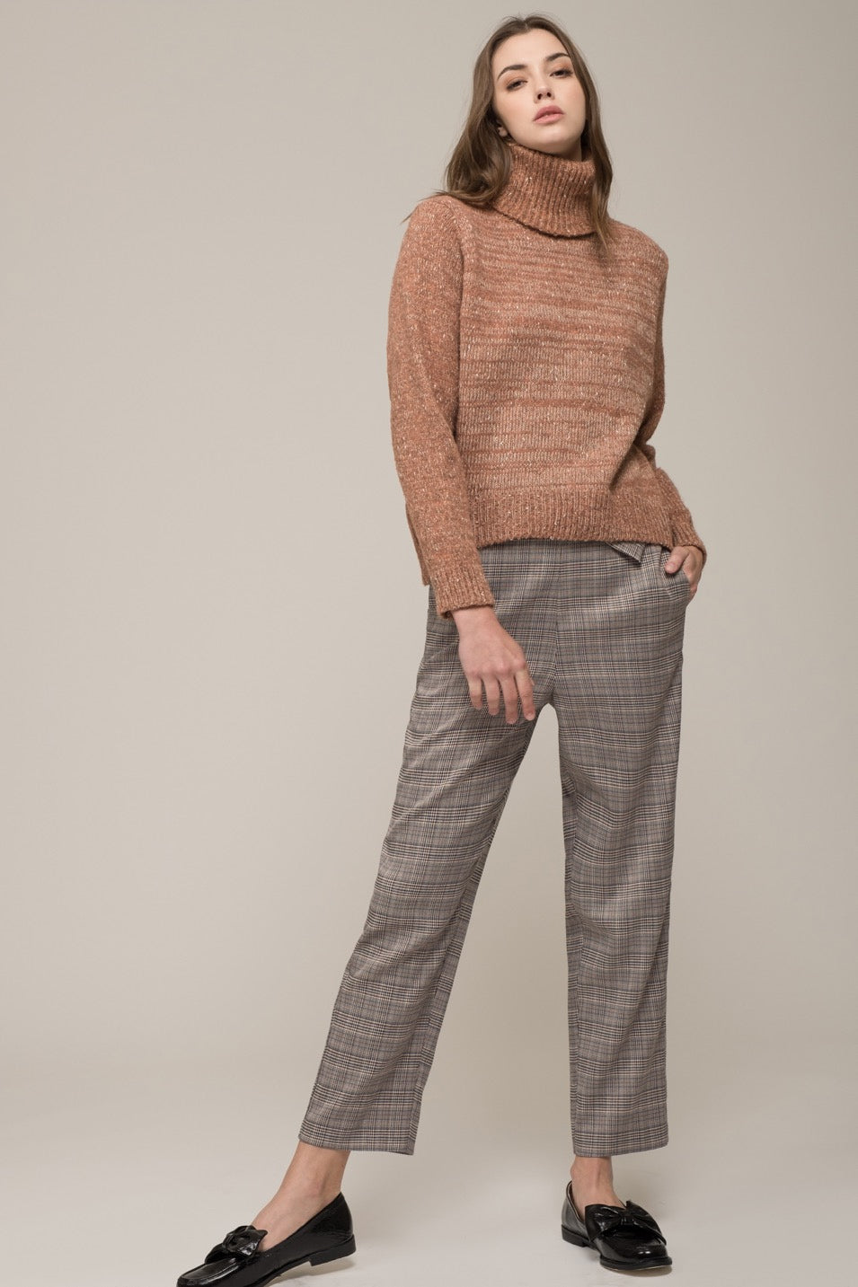 Moon River Turtleneck Sweater