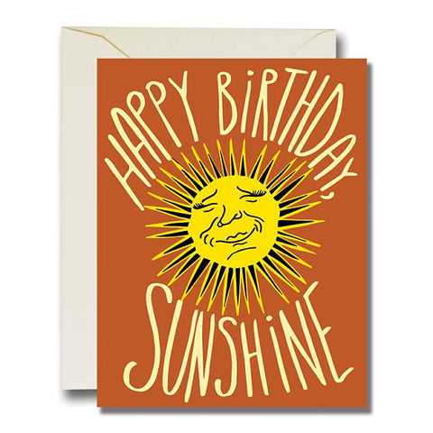 Sunshine Birthday Greeting