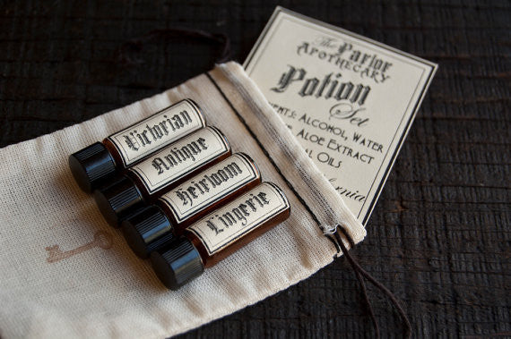 The Parlor Apothecary Perfume Gift Set