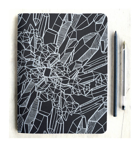 Quartz Crystal Sketch Book