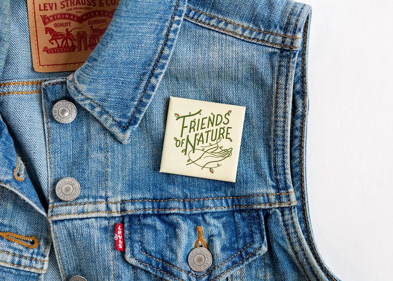 Friends of Nature Button