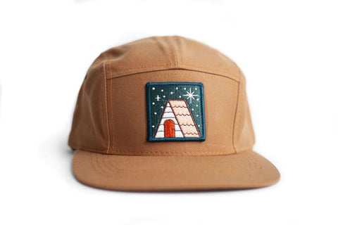 Ello There Cabin Under the Stars Baseball Hat