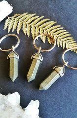 Crystal Point Keychain