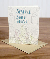 Sparkle and Shine Greeting Card