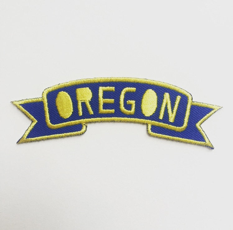 Oregon Banner Patch