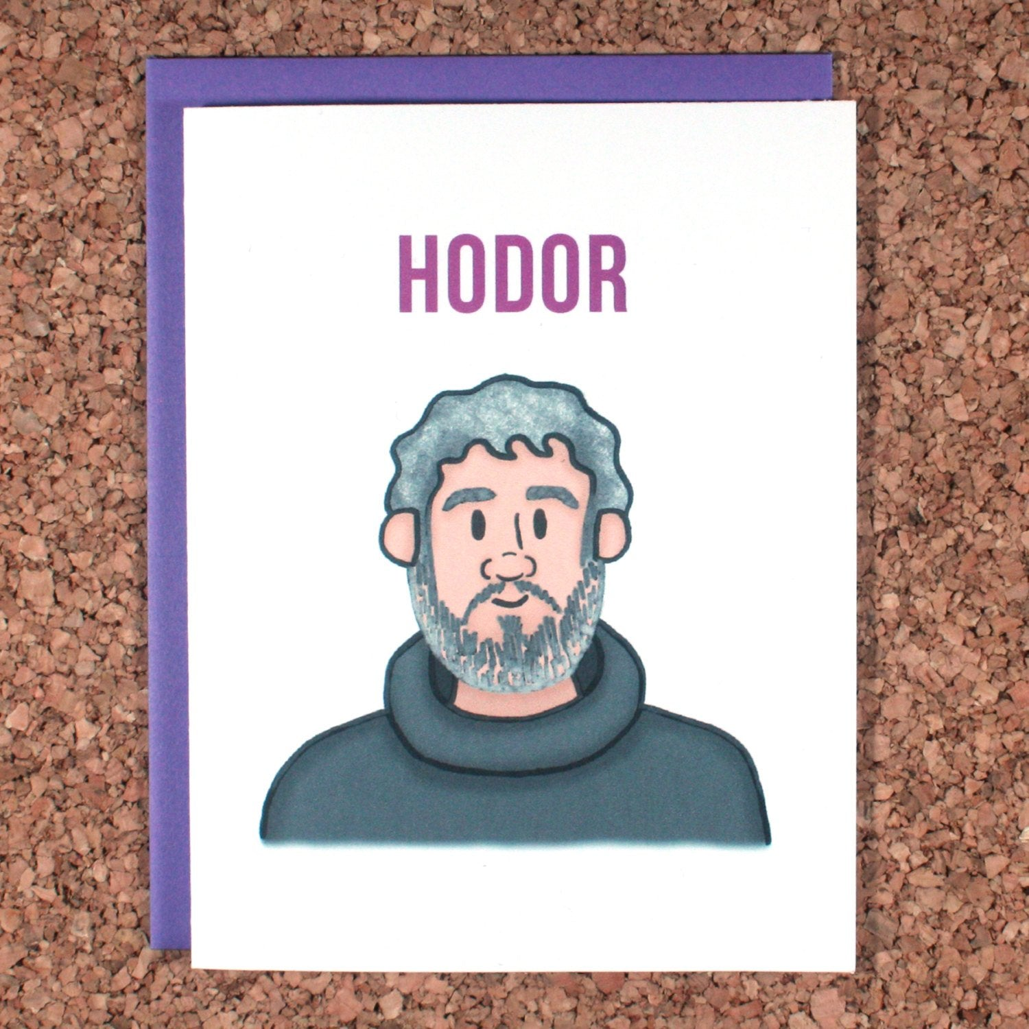 Game of Thrones Hodor Greeting