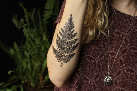 Nature Tats Fern Leaf