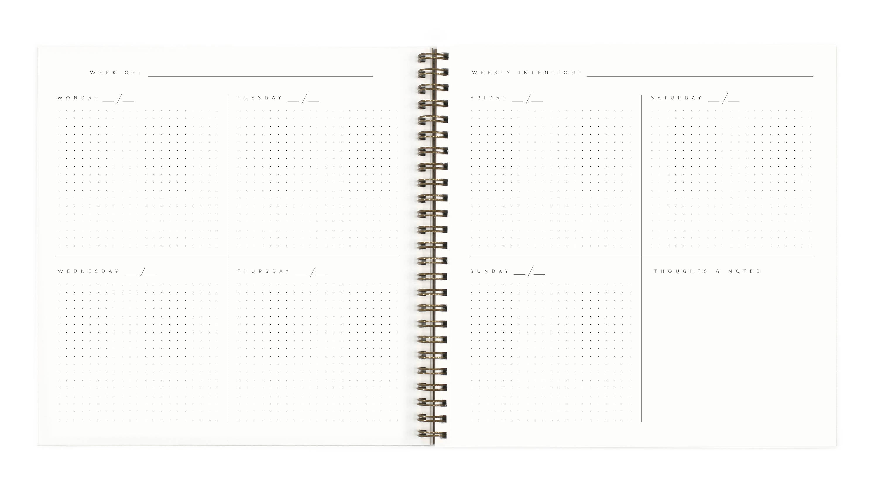 Worthwhile Open-Dated Planner