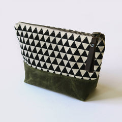Medium Wedge Zipper Pouch