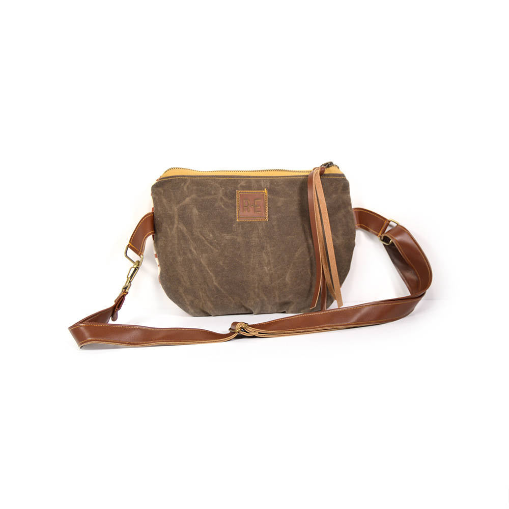 Rachel Elise Waxed Canvas Fanny Pack