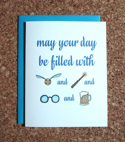 Harry Potter Birthday Greeting