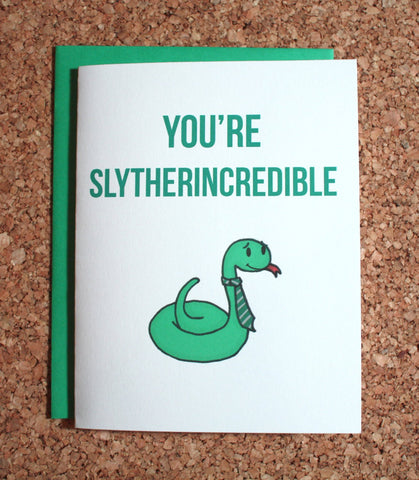 Harry Potter Slytherin Greeting