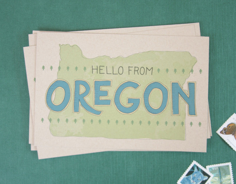 Oregon Postcard
