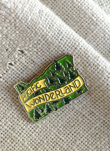 Pacific Wonderland Pin