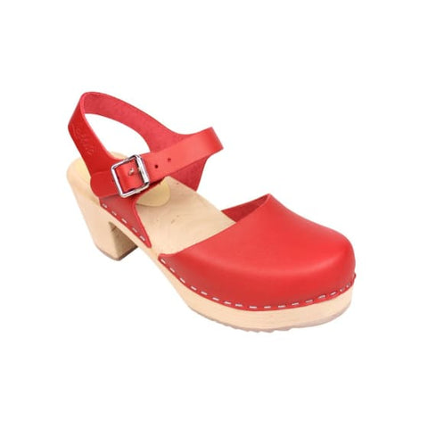 Lotta From Stockholm Red Highwood Clog