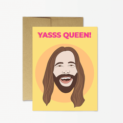 JVN Yasss Queen Greeting