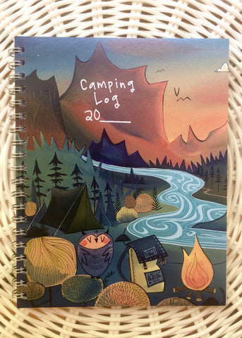 Camping Log x Megan Marie Myers