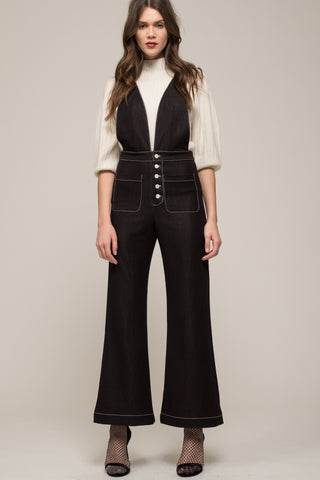 Moon River Wide Leg Overalls