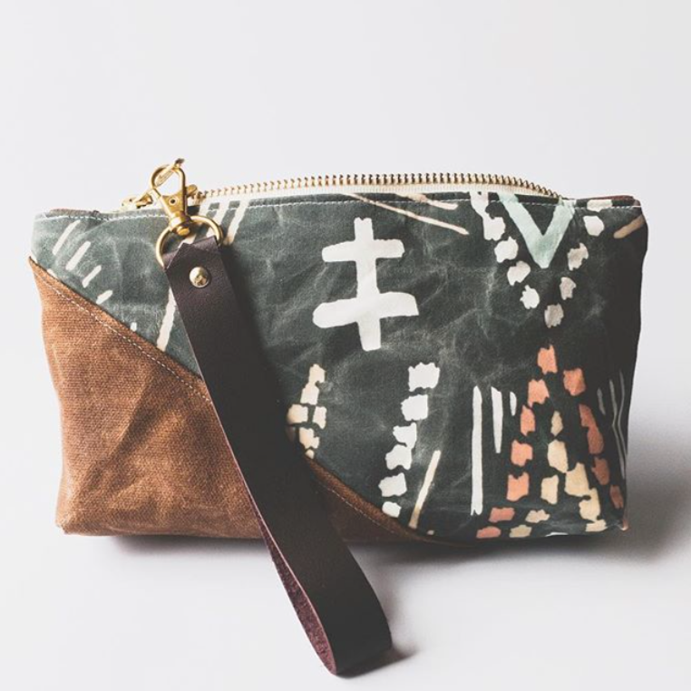 Burst into Bloom Nomad Wristlet