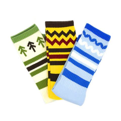 Parks Project Park Terrain 3-Pack Socks