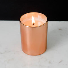 Rose Gold Cozy Cabin Candle