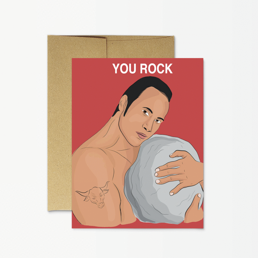 You Rock Greeting