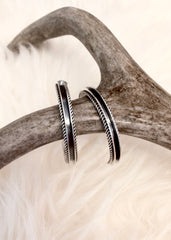 Navajo Hoop Earrings