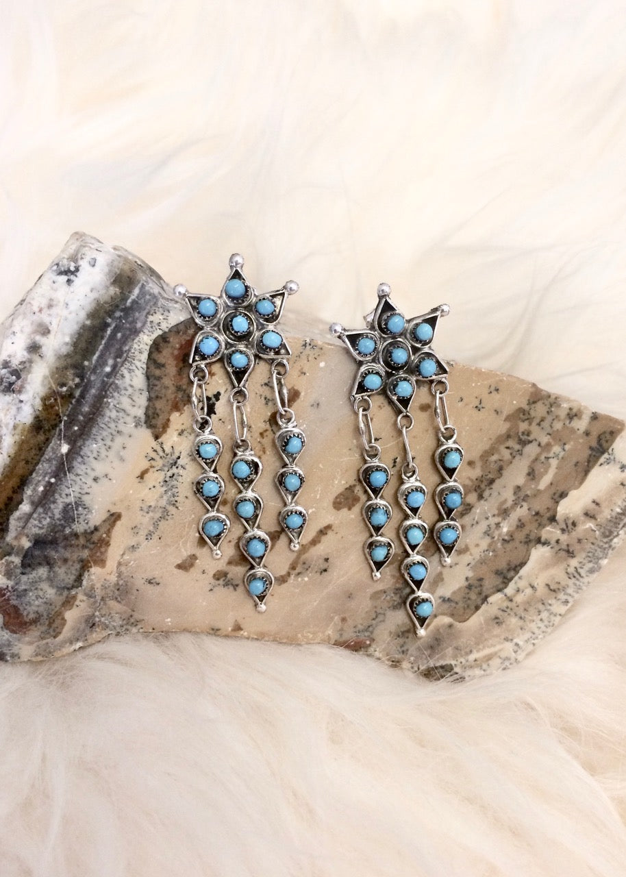 Zuni Starburst Earrings
