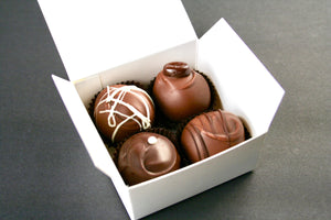 Artisan Chocolate Truffles | 4-pack