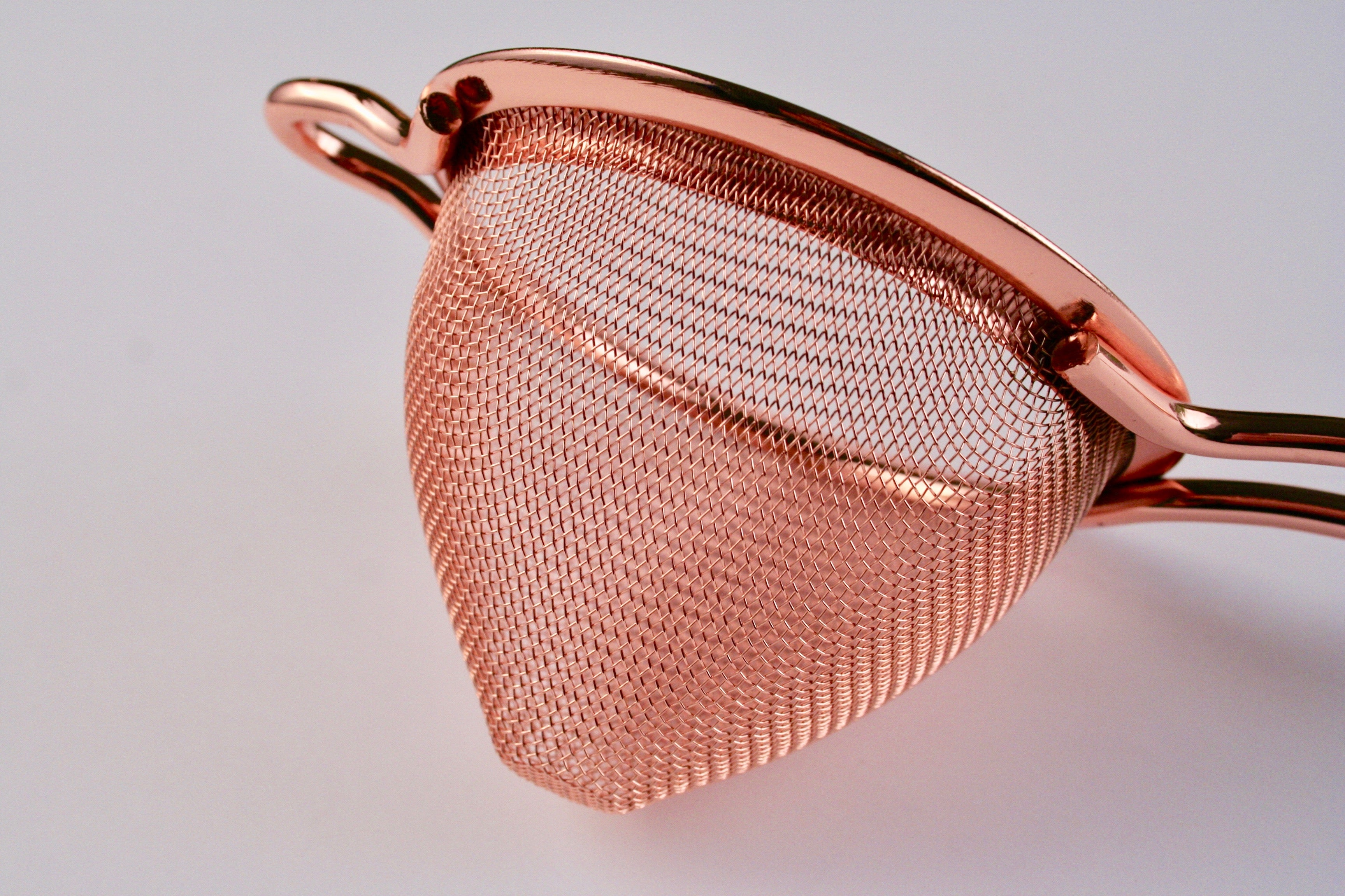 Fine Mesh Strainer | Copper Plated