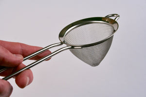 Fine Mesh Strainer | Stainless Finish