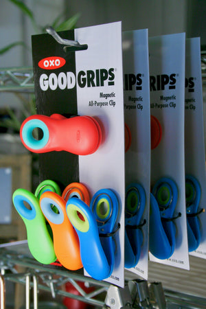 OXO Good Grips 4-Piece Magnetic All-Purpose Clip Set