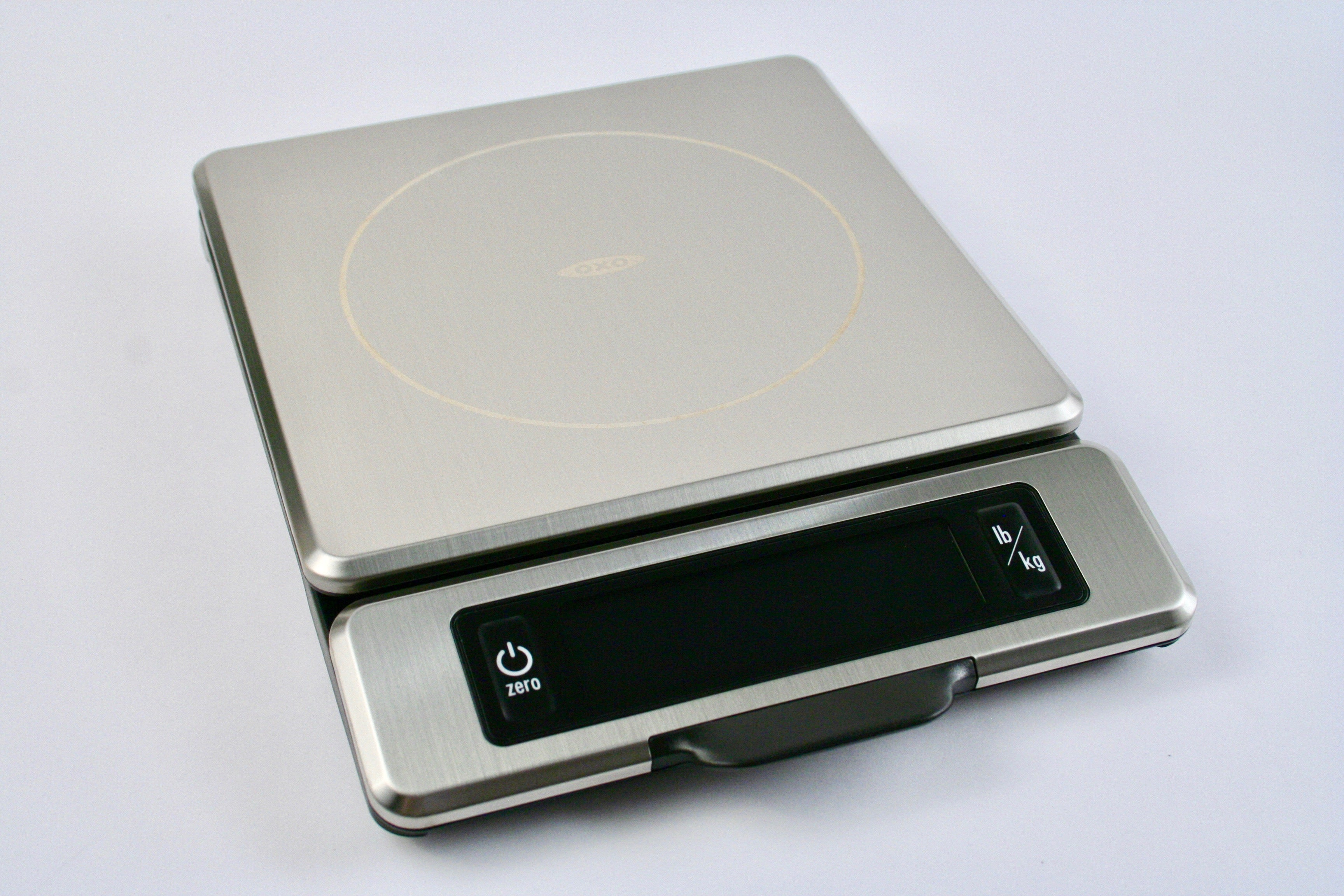 OXO Good Grips 11 lb Stainless Steel Food Scale with Pull out Display