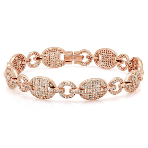 Turtle Rose gold plated bracelet. - Zaitano