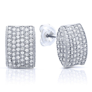 Unique stud earrings - Zaitano