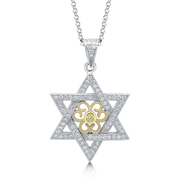 Star of david pendant. - Zaitano