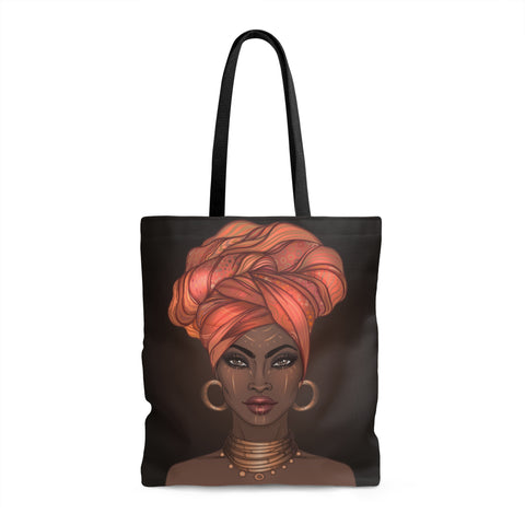 Goddess in a Gele Tote (multiple colors)