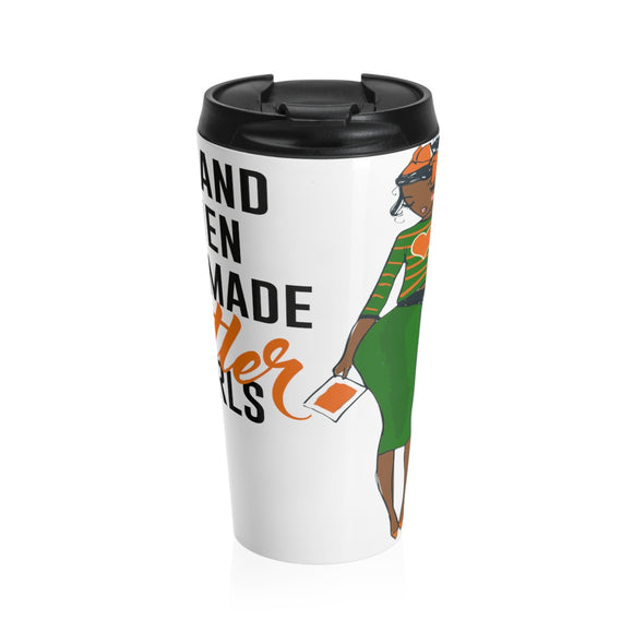 God Made Rattlers - 15oz Travel Mug