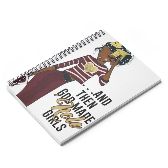 FSU Spiral Ruled Line Notebook