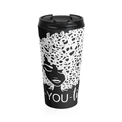 Sipping Tea Stainless Steel Travel Mug
