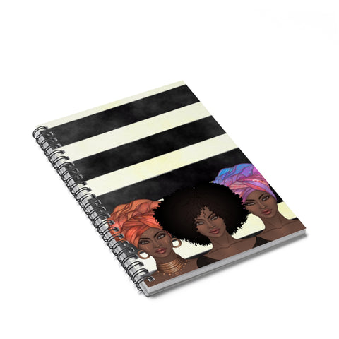 Goddess trio - Ruled Line Notebook