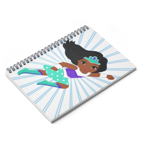 Supergirl Spiral Notebook - Ruled Line