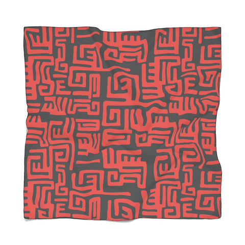 Tribal Print - Poly Scarf