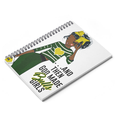 USF Bulls Spiral Ruled Line Notebook