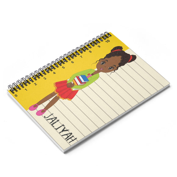 Personalized Back to School Notebook