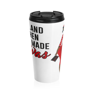 God Made Deltas - 15oz Travel Mug