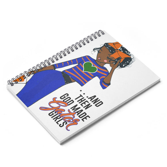 UF Spiral Ruled Line Notebook