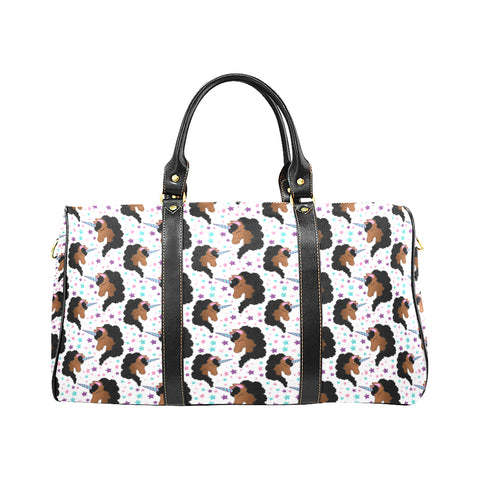 Black Unicorn Travel Tote